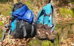 Mit Bibel und Rucksack