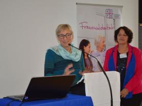 Stellvertretende Landesvorsitzende des KDFB Sabine Slawik