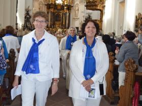 Bildungswerkvorsitzende Edith Werner und Diözesanvorsitzende Edeltraud Hann